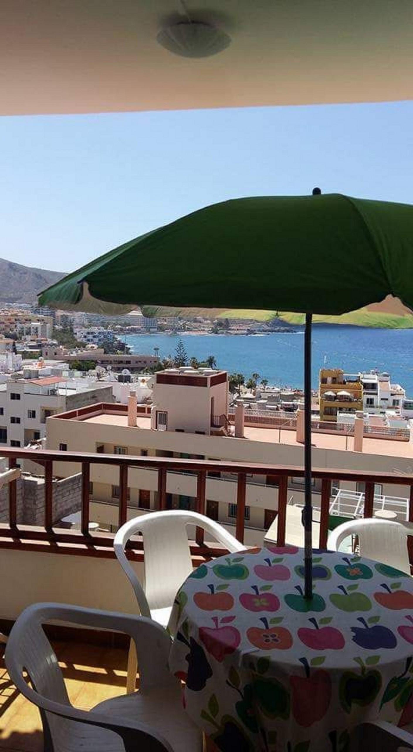 Cactus Rojo Vistas Al Mar Los Cristianos Apartment